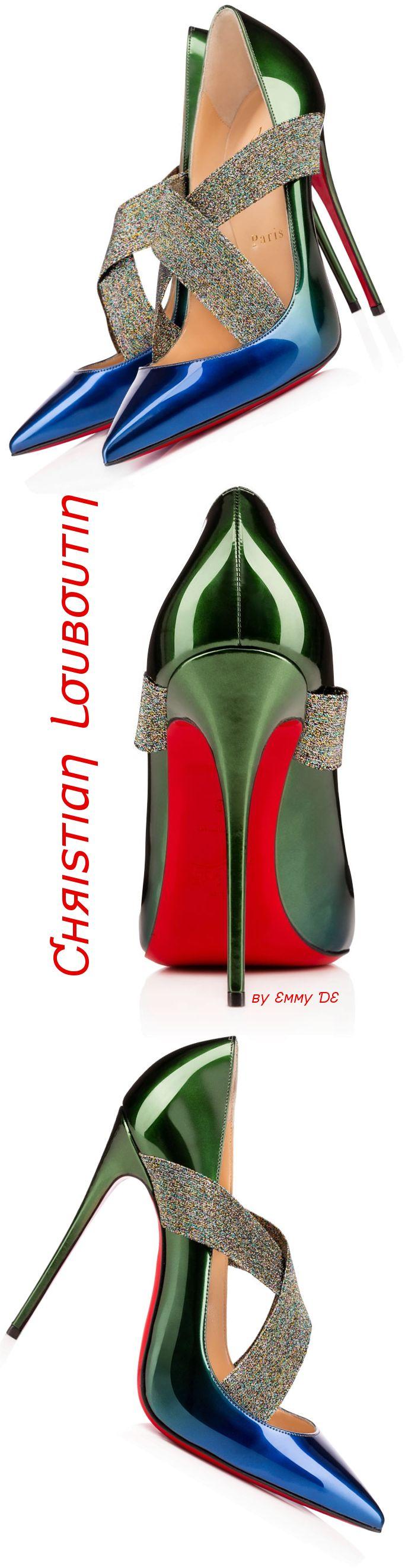 Emmy DE * Christian Louboutin Sharpstagram Patent Scarabe