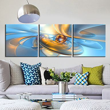 Stretched Canvas Art Abstract Fantasy Ball Set of 3 – USD $ 69.99