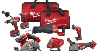 Home Depot ~ 38% Off Off Select Milwaukee Lithium-Ion Power Tool Kits