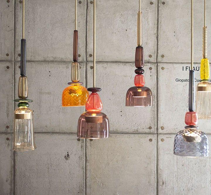 I Flauti lamps - Giopato&Coombes