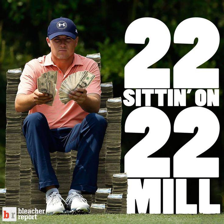 Baller. Jordan Spieth has made $22M this year. Jordan Spieth is 22 years old. (H/t to Bleacher Report) I Rock Bottom Golf #rockbottomgolf
