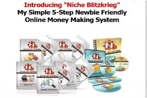 Niche Blitzkrieg Online Money Making System. My Ranking 85/100 = RECOMMENDED. See the whole review here http://youronlinerevenue.com/niche-blitzkrieg-review