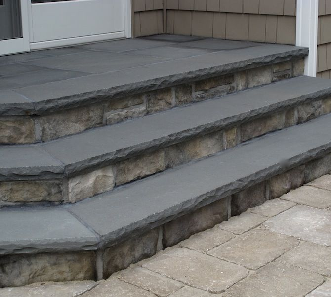 Rock Face Edge Bluestone Counter Google Search In 2019