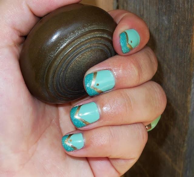 Princess Jasmine Nails: 17 Best Images About Disney Nails On Pinterest