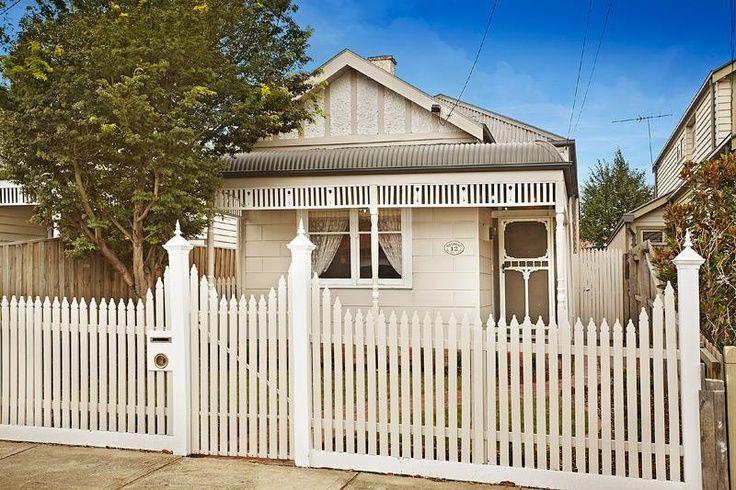 victorian exterior house neutral color schemes australia - Google Search