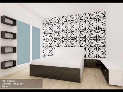 Amenajare dormitor Roxana si Raluca)   design si executie