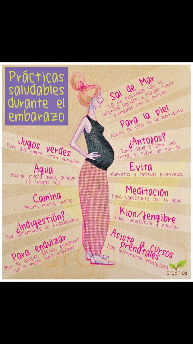 Consejos para embarazada