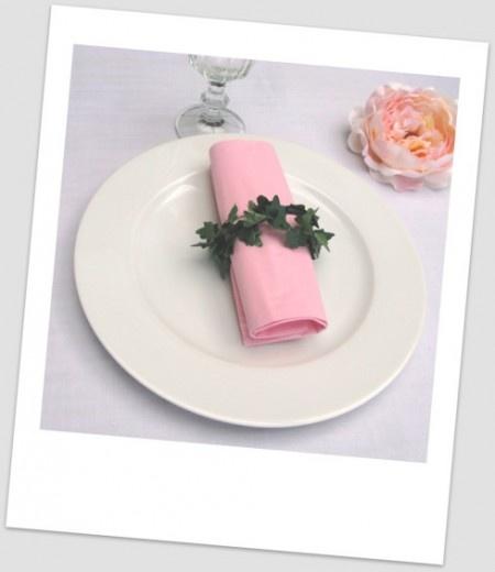 D coration de table rond de serviette en lierre - Comment se debarrasser du lierre ...