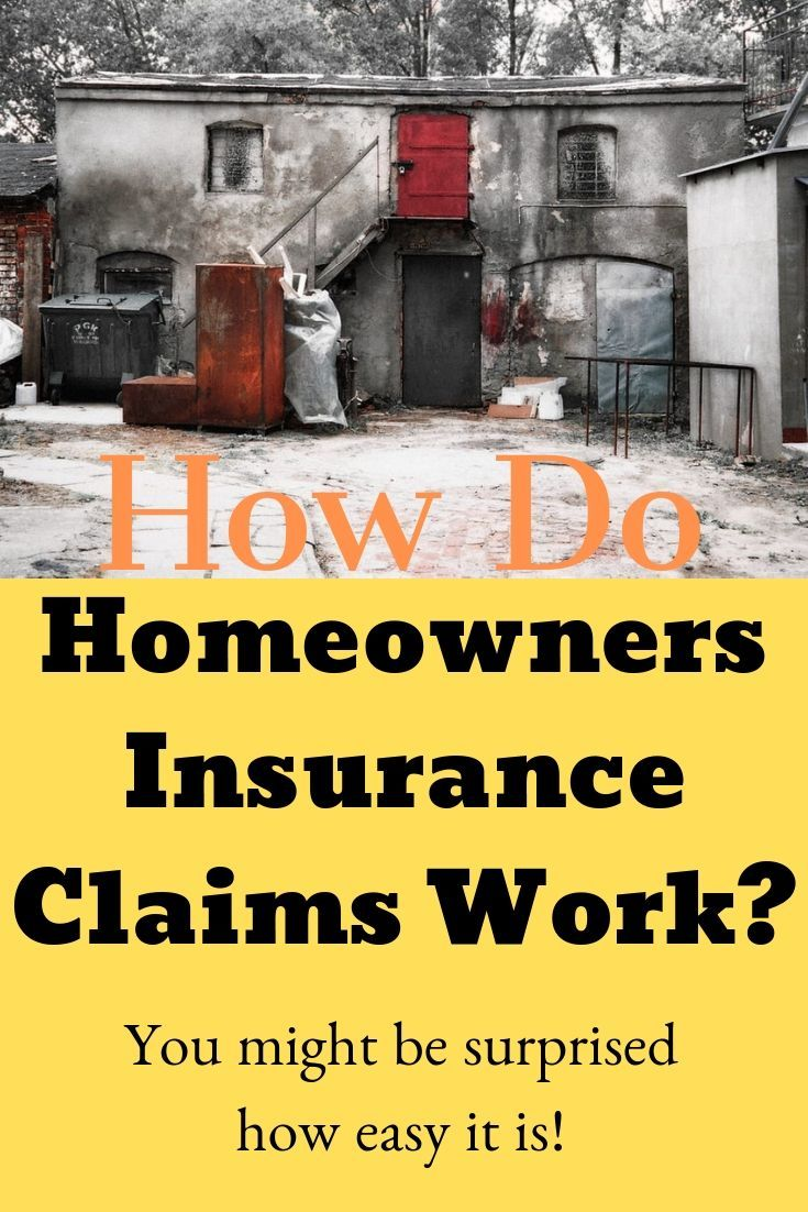 Homeinsurance Insuranceclaims Homeowersinsurance How Does