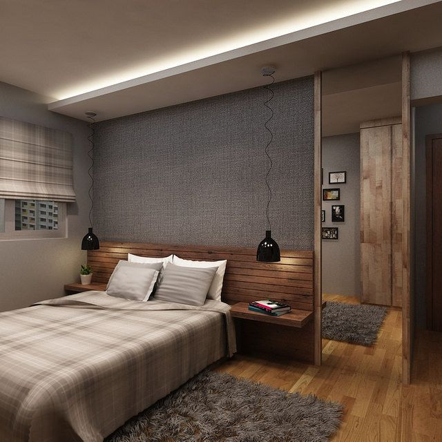 Hdb 4 room 30k buangkok green interior design for Bedroom ideas hdb