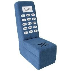 Blue Jean Cell Phone Chair - Lumi-CHR-CELL-BJChairs Sofas, Chairs Heights, Jeans Cell, A Mini-Saia Jeans, Phones Chairs, Blue Jeans, Cell Phones, Collection Chairs, Blue Chairs