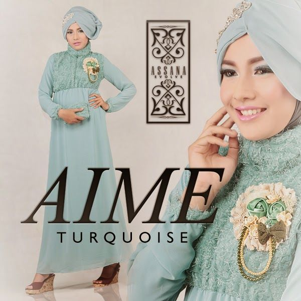 Aime by Assana Evolve - Turqoise