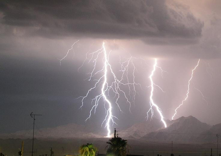 Lake Havasu City, AZ. Monsoon