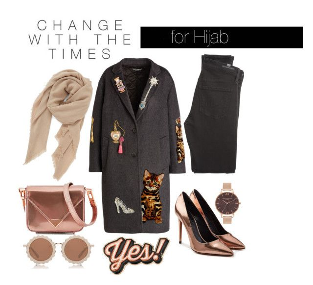 """""""Untitled #32"""" by rabiasemx on Polyvore featuring Alexander Wang, Citizens of Humanity, BP., Olivia Burton, Anya Hindmarch, Dolce&Gabbana and House of Holland"""