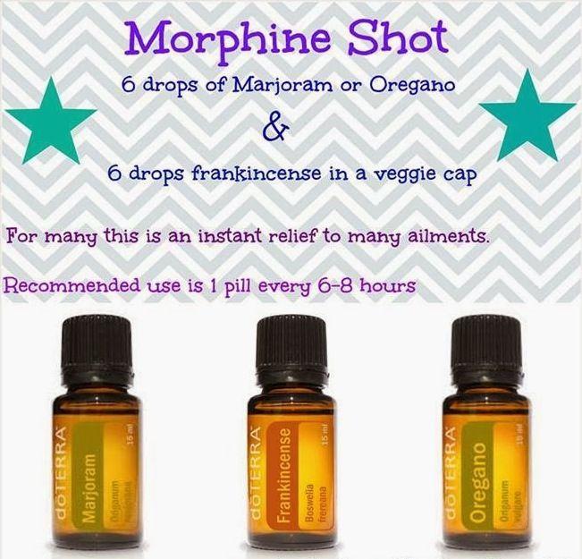 doterra's morphine bomb