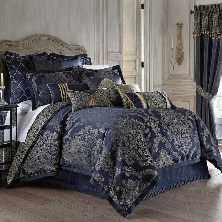 1000 Ideas About Blue Comforter Sets On Pinterest Navy