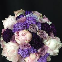 peonies,carnations,cluster roses