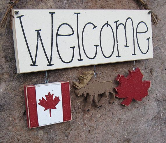 Canada Decorations no sign included for wall and home by lisabees, $14.95