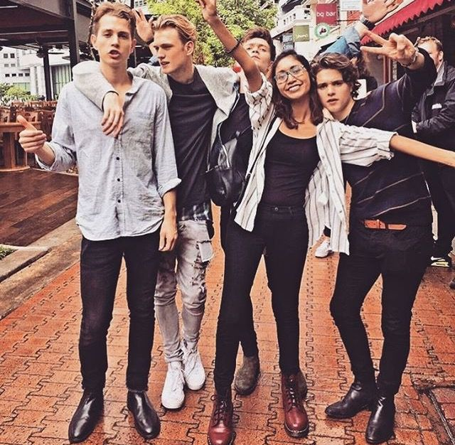The Vamps in Asia