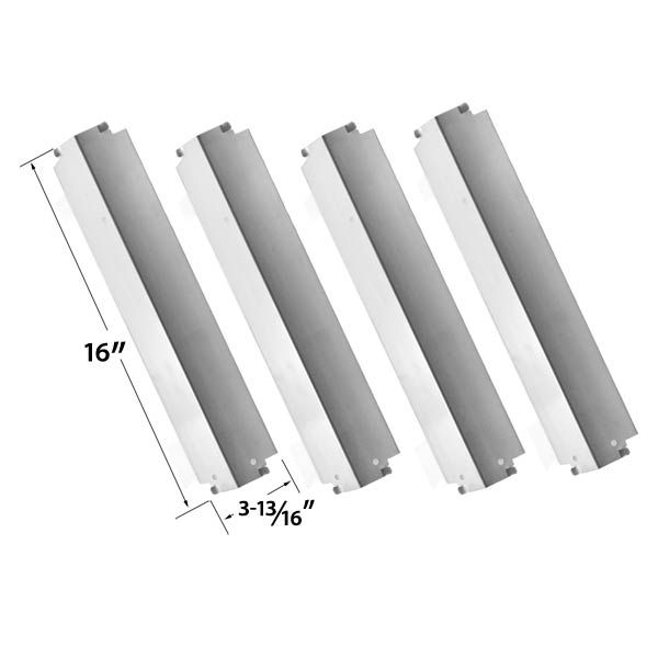 4 PACK REPLACEMENT STAINLESS STEEL HEAT PLATE FOR XPS, KENMORE, THERMOS 461262006 AND CHARBROIL LOWES 463248208 GAS GRILL MODELS  Fits XPS Models : XPS DXH8303  BUY NOW @ http://grillrepairparts.com/shop/grill-parts/4-pack-replacement-stainless-steel-heat-plate-for-kenmore-thermos-461262006-and-charbroil-lowes-463248208-gas-models/