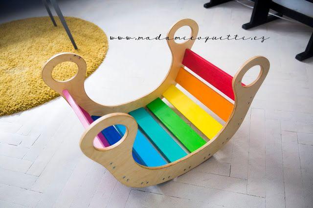 Madame Coquette: tip / rainbow - duhová houpačka