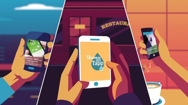 Client: Tapp.com Producer: Thinkmojo Concept, Script, Storyboard : Thinkmojo  Art Direction: Thinkmojo Design: Alex Kuvaldin Animation: Arm Sattavorn Sound design: Daruma Audio Voice over: Mark Furze