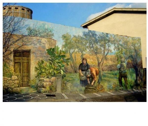 Живые стены Сардинии - Художники и арт-проекты