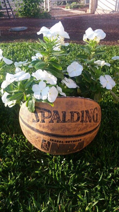 Outdoor Basketball Planter