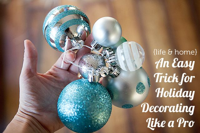 A super easy trick for taking your holiday decor up a notch this year.