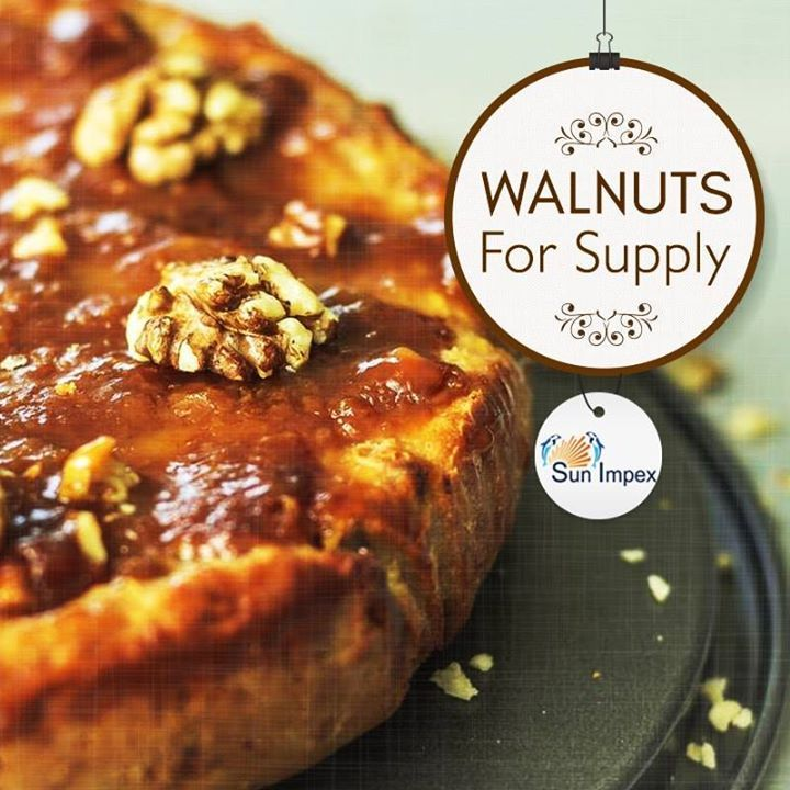 WALNUTS FOR SUPPLY A walnut is an edible seed. They are either from the Persian or English Origin. Walnut seeds are a high-density source of nutrients, particularly proteins and essential fatty acids. Walnuts are best known for Omega 3 content. Sun Impex supply premium quality walnuts worldwide. With vacuum sealing capabilities, we ensure that the farm fresh nuts are delivered to our customers. To avail, visit: http://bit.ly/Nuts_Walnuts
