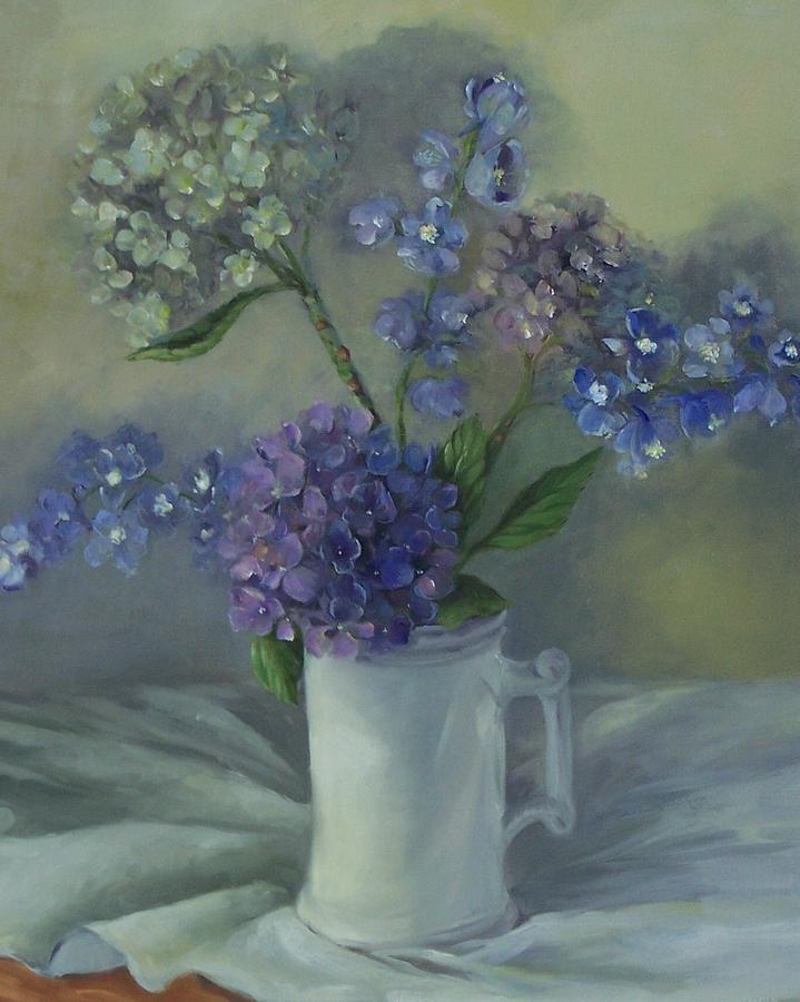 Hydrangeas Hydrangea Painting Fine Art Prints And Art