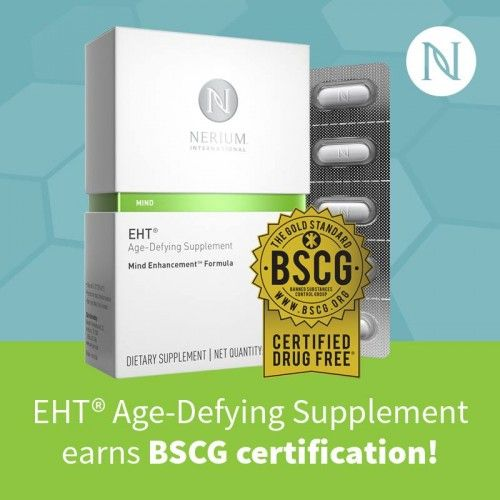 We are proud to be BSCG Certified Drug Free®! Read more here: http://nerium.io/n75 http://nerium.io/n76