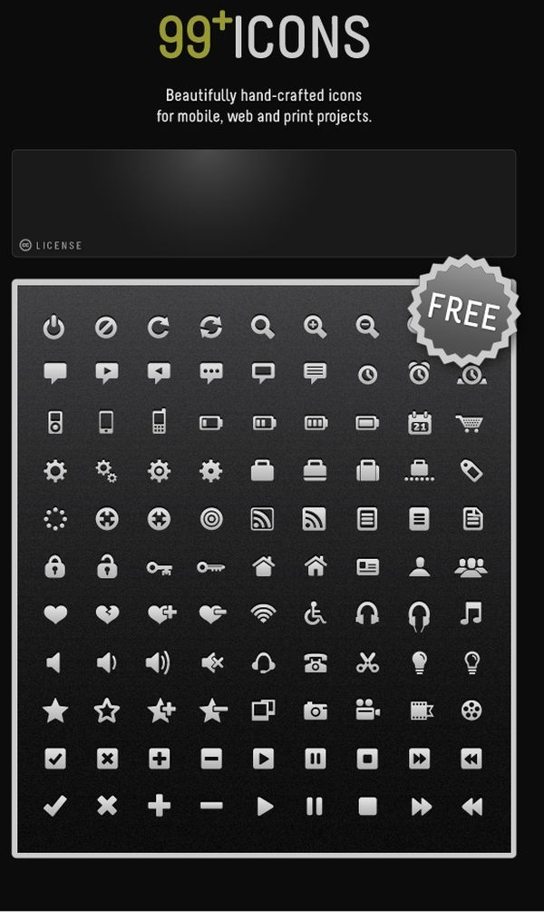 Free Vector Icons For Mobile and Web Apps by ~ThemeCavern #freebies