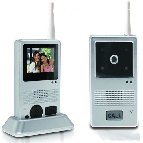 Visiophone Sans Fil – Mobile – Sonnette, Interphone, Video ou Photo LCD – Portée 25 m: Visiophone Sans Fil - La mobilité en plus !! Sa…