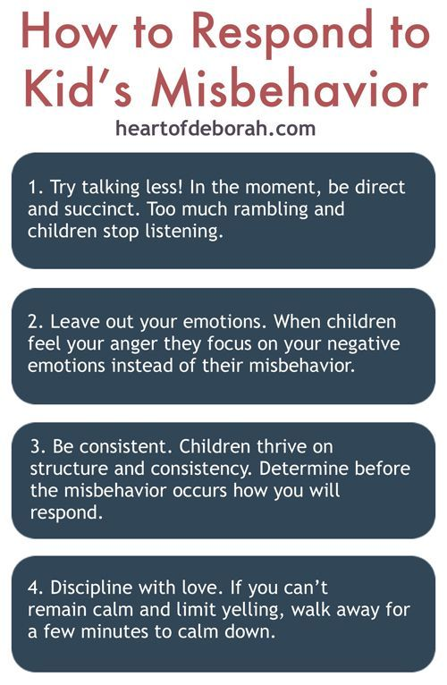 Looking for a more effective way to discipline? Try correcting misbehavior by using less words and counting to 3! Check out Heartofdeborah.com for other great parenting posts!