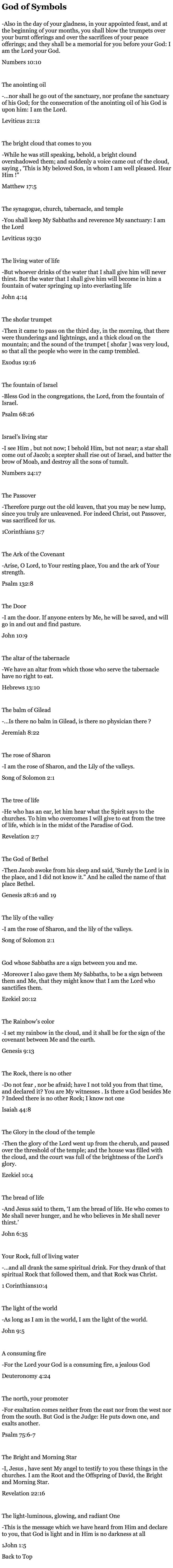 God of Symbols: by John Paul Jackson