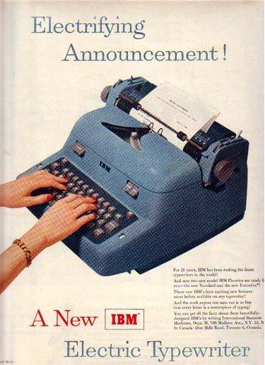 History of the IBM Typewriter