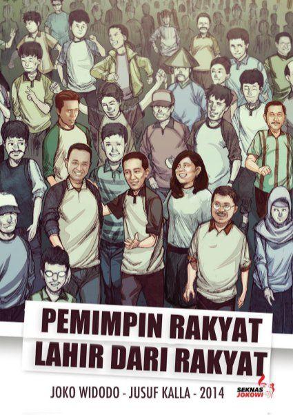 Komik Jokowi oleh OneWorld, Indonesia Hebat.