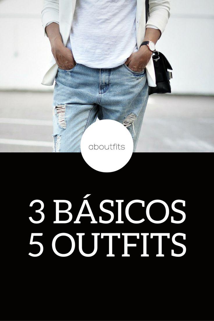 JEANS BÁSICOS 5 OUTFITS  ABOUTFITS - FASHION BLOG - OUTFITS - MODA - ESTILO - IMAGEN PERSONAL