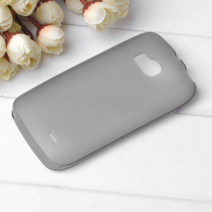 TPU Shell (Grå) Nokia Lumia 710 Deksel