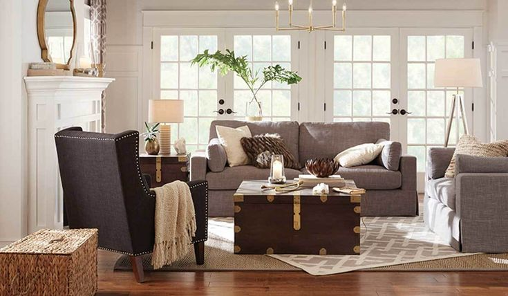 Add a little swanky style to your living space with some of our favorite furniture finds. Whether you want to add a little more cozy to your space or you need pieces that will provide additional storage, these finds are a must-see! #livingroom #homedecor #furniture