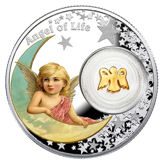 Pure Silver Coin – Angel of Life – Mintage: 1,500 (2016)