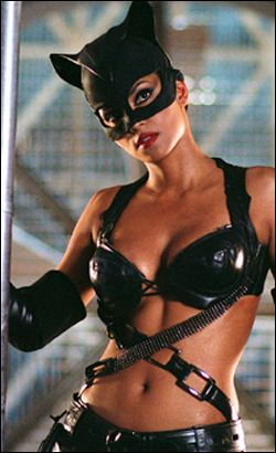 I wish to be as lethal as Catwoman (Halle Berry).