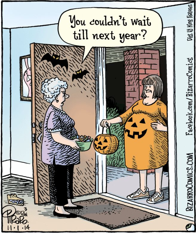 Bizarro Bizarro comic, Halloween cartoons, Comics