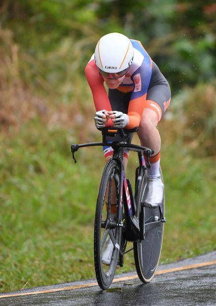 Dutch cyclist, Anna van der Breggen ~ Gold Medal at 2016 Rio Olympics (Road Race)