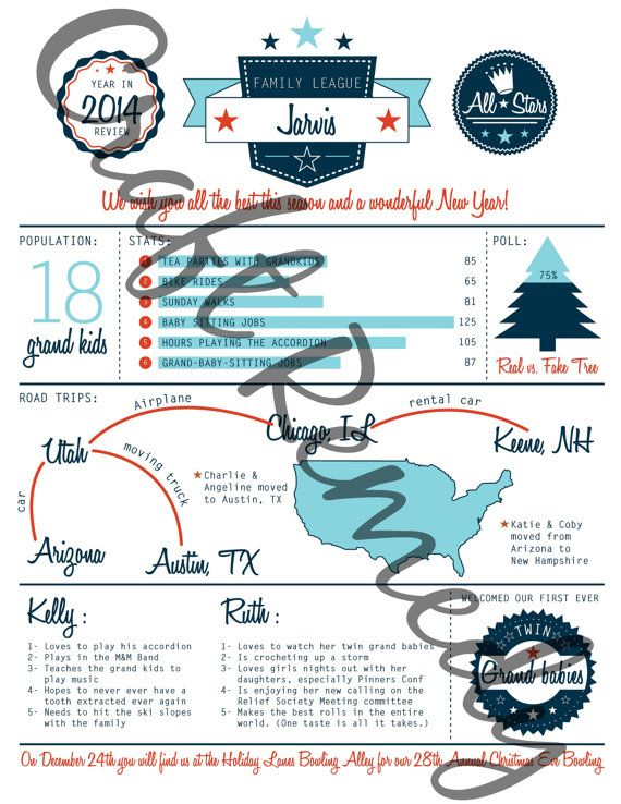 Infographic Ideas easy infographic template : Editable DIY Christmas Newsletter Infographic template. Sports ...