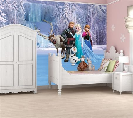 Frozen: Full Wall Mural Large Accessories, Merchandise | Sanity