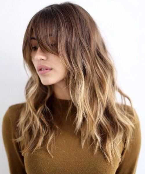 Hottest New Long Hairstyles 2017 with Bangs