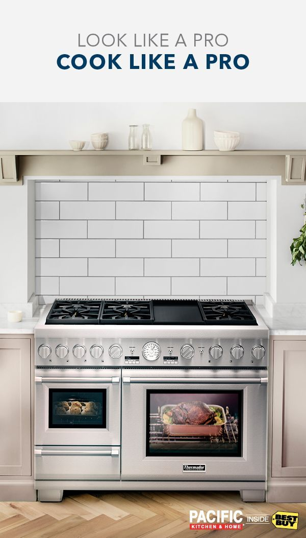 Every Professional Chef Knows The Importance Of Presentation The Same Is True At Home That S Why The Thermador P Kitchen Renovation Home Kitchens New Kitchen