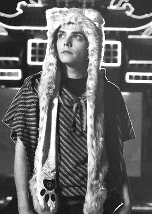 Gerard Way :D You could tell me he's not adorable ... but then you'd be wrong.